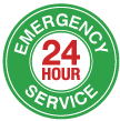 24 Hour Emergency Service Available!